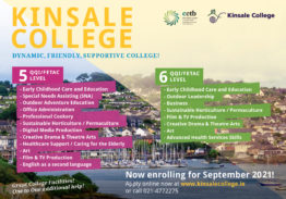 Kinsale College will be exhibiting at Career Path Expo on March 10th & 11th