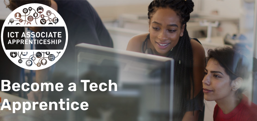 Become a tech apprentice with FIT, Fast Track to Information Technology. Talk to their team at Career Path Expo